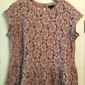 Lace Flutter Top